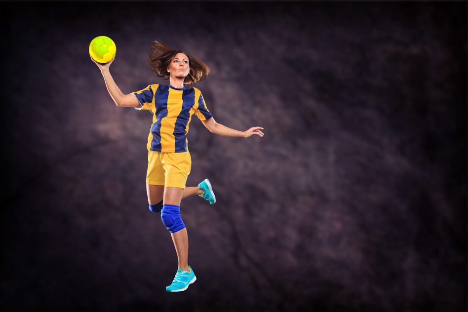 håndboldpige